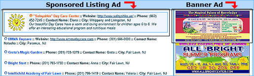 Advertise with Russian Parents NJ
