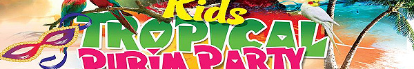 Kids Tropical Purim Party