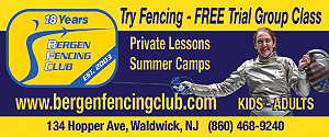 Bergen Fencing Club - New Jersey Premier Competitive Fencing Club - Fencing NJ