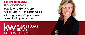 Ellen Kogan - Real Estate -  NJ - Fair Lawn - Bergan County - Russian Real Estate Agent in NJ - KW - Keller Williams